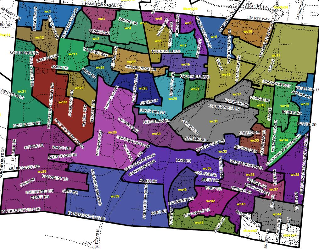 new precinct map